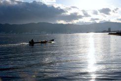 御神渡り~諏訪湖~