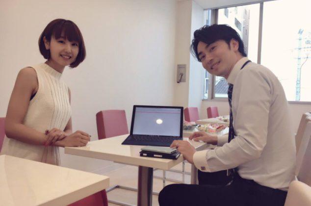 ファッションコーディネートを担当してもらっている岡田あすか先生(^^)/